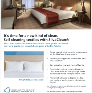 SilvaClean's application in hospitality